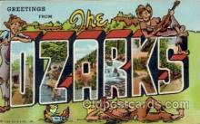 LLT1001291 - Ozarks Large Letter Town Towns Post Cards Postcards
