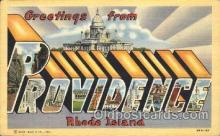 LLT100155 - Providence, Rhode Island, Usa Large Letter Town, Towns, Postcard Postcards