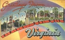 LLT100158 - Harrisonburg, Virginia, Usa Large Letter Town, Towns, Postcard Postcards