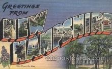 LLT100171 - New Hampshire, Usa Large Letter Town, Towns, Postcard Postcards