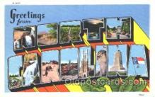LLT100181 - North Carolina, Usa Large Letter Town, Towns, Postcard Postcards
