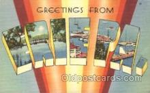 LLT100207 - Erie, Pa., Usa Large Letter Town, Towns, Postcard Postcards