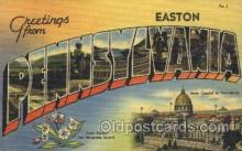 LLT100208 - Pennsylvania, Usa Large Letter Town, Towns, Postcard Postcards
