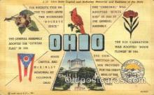 LLT100243 - Ohio, Usa Large Letter Town, Towns, Postcard Postcards