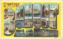 LLT100269 - Banyor, Miami, Usa Large Letter Town, Towns, Postcard Postcards