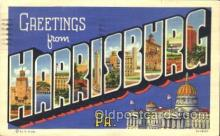 LLT100283 - Harrisonburg, Virginia, Usa Large Letter Town, Towns, Postcard Postcards