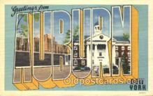LLT100316 - Auburn, New York, Usa Large Letter Town, Towns, Postcard Postcards