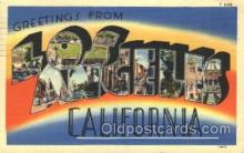 LLT100334 - Los Angeles, California, Usa Large Letter Town, Towns, Postcard Postcards