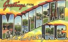 LLT100341 - Montreat, N.C., Usa Large Letter Town, Towns, Postcard Postcards