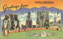LLT100345 - Pennsylvania, Usa Large Letter Town, Towns, Postcard Postcards