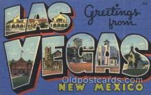 LLT100360 - Las Vegas, nevada, usa Large Letter Town, Towns, Postcard Postcards