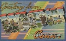 LLT100369 - Bridgeport Conn, USA Large Letter Towns Postcard Postcards