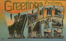 LLT100393 - White Mts. N.H., USA Large Letter Towns Postcard Postcards
