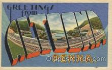 LLT100395 - Altoonia, Penna, USA Large Letter Towns Postcard Postcards