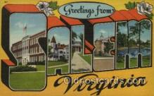 LLT100405 - Salem Virginia, USA Large Letter Towns Postcard Postcards