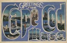 LLT100427 - Cape Cod, Mass, USA Large Letter Towns Postcard Postcards