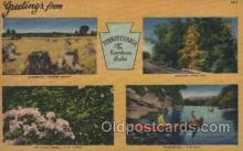 LLT100433 - Pennsylvania, USA Large Letter Towns Postcard Postcards