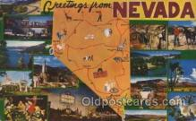 LLT100434 - Nevada, USA Large Letter Towns Postcard Postcards