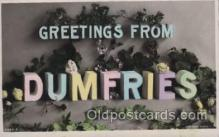 LLT100442 - Dumfries, USA Large Letter Towns Postcard Postcards