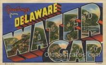 LLT100444 - Water Gap, Delaware, USA Large Letter Towns Postcard Postcards