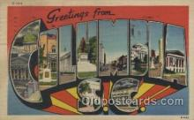 LLT100448 - Columbia, S.c., USA Large Letter Towns Postcard Postcards