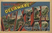 LLT100452 - Water Gap, Delaware, USA Large Letter Towns Postcard Postcards