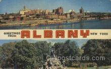 LLT100454 - Albany, N.Y., USA Large Letter Towns Postcard Postcards
