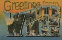 LLT100469 - White Mts. N.H., USA Large Letter Towns Postcard Postcards