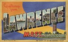LLT100501 - Lawrence, Mass, USA Large Letter Towns Postcard Postcards