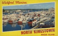 LLT100514 - North Kingstown, Rhode Island, USA Large Letter Towns Postcard Postcards