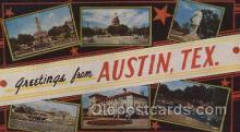 LLT100524 - Austin, Texas, USA Large Letter Towns Postcard Postcards