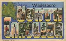 LLT100528 - North Carolina, USA Large Letter Towns Postcard Postcards