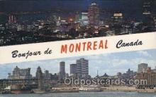 LLT100531 - Montreal, Canada Large Letter Towns Postcard Postcards