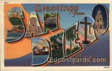 LLT100536 - San Diego, California Large Letter Town Towns Post Cards Postcards