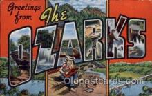 LLT100543 - The Ozarks Large Letter Town Towns Post Cards Postcards