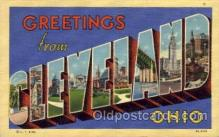 LLT100545 - Cleveland, Ohio Large Letter Town Towns Post Cards Postcards