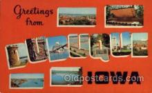 LLT100557 - Dubuque, Iowa Large Letter Town Towns Post Cards Postcards