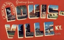 LLT100558 - Louisville, Kentucky Large Letter Town Towns Post Cards Postcards