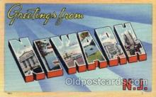 LLT100563 - Newark, New Jersey Large Letter Town Towns Post Cards Postcards