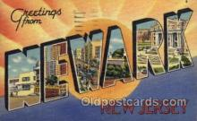 LLT100565 - Newark, New Jersey Large Letter Town Towns Post Cards Postcards