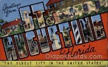 LLT100582 - St. Augustine, Florida Large Letter Town Towns Post Cards Postcards