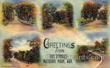 LLT100601 - Hot Springs National Pakr, Arkansas Large Letter Town Towns Post Cards Postcards