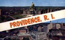 LLT100602 - Providence, Rhode Island Large Letter Town Towns Post Cards Postcards