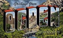 LLT100624 - Ogden, Utah Large Letter Town Towns Post Cards Postcards
