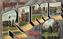 LLT100649 - Rome, Georgia Large Letter Town Towns Post Cards Postcards