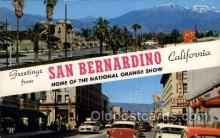 LLT100655 - San Bernardino, California Large Letter Town Towns Post Cards Postcards