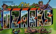 LLT100656 - Ozarks Large Letter Town Towns Post Cards Postcards