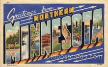 LLT100662 - Northern Minnesota Large Letter Town Towns Post Cards Postcards
