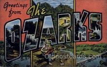 LLT100664 - Ozarks Large Letter Town Towns Post Cards Postcards