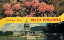 LLT100691 - West Virginia Large Letter Town Towns Post Cards Postcards
